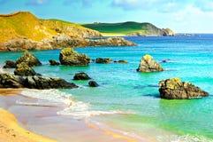 Sango bay Durness beach. Highlands of Scotland Royalty Free Stock Photos