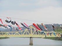 Sangobashi-Brücke, Japan Lizenzfreies Stockbild
