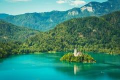 Sangrado, Eslovenia Foto de archivo