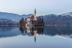 Sangrado, Eslovenia, Europa Imágenes de archivo libres de regalías