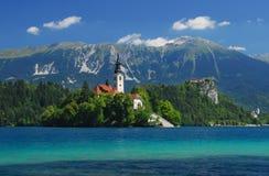Sangrado, Slovenia, Europa Fotografia de Stock
