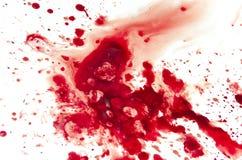 Sangre Fotografía de archivo