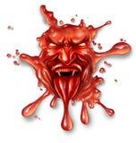Sangre asustadiza Foto de archivo libre de regalías