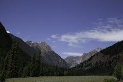 Sangre De Cristo Mountains fotografie stock