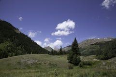 Sangre De Cristo Mountains fotografia stock libera da diritti
