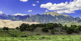 Sangre De Cristo Mountains Lizenzfreie Stockbilder