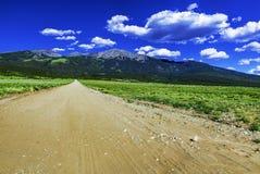 Sangre De Cristo Mountains Lizenzfreies Stockfoto
