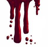 Sangre del goteo Fotografía de archivo