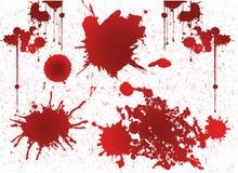 Sangre del Grunge, vector del grunge Foto de archivo libre de regalías