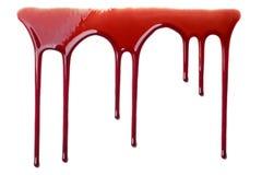 Sangre que fluye imágenes de archivo libres de regalías