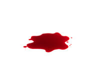 Sangre roja imagen de archivo libre de regalías