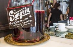 Sangria ποτό που πωλείται Mercado de SAN Miguel στοκ φωτογραφίες