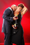 Sangria appassionata Fotografia Stock Libera da Diritti