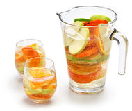 Sangria blanca, white sangria Royalty Free Stock Photography
