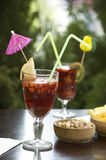 Sangria cocktail Stock Photography