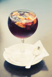 Sangria cocktail Royalty Free Stock Photography