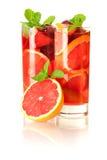 Sangria di rinfresco della frutta (punzone) Fotografia Stock Libera da Diritti