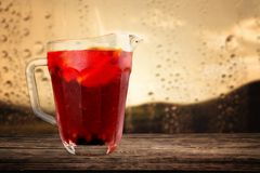 Sangria drink Royalty Free Stock Images