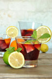 Sangria Royalty Free Stock Photo