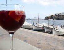 Sangria in Menorca, Spain Royalty Free Stock Images