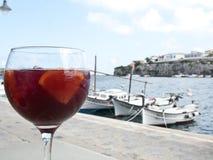 Sangria in Menorca, Spain Royalty Free Stock Photo