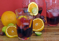 Sangria Party Royalty Free Stock Images