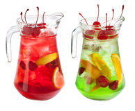 Sangria pitcher Stock Images