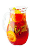 Sangria Pitcher. Wine Drink Royalty Free Stock Image