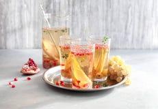 Sangria Prosecco коктеиля Стоковое Фото