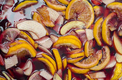 Sangria with red wine Stock Photography
