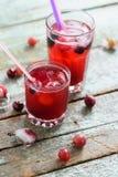 Sangria saine de boisson non alcoolisée Boisson froide régénératrice de photographie stock libre de droits