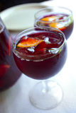 Sangria For Two Stock Photography