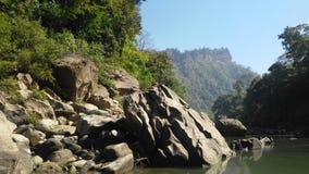 sangu Fluss Stockfotografie