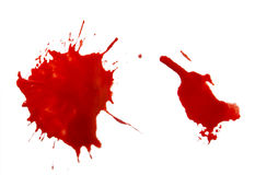 Sangue Foto de Stock Royalty Free