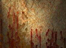 Sangue abstrato do fundo Fotografia de Stock Royalty Free