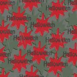 Sangue de Dia das Bruxas Foto de Stock Royalty Free