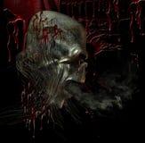 Sangue de grito Ilustração do Vetor