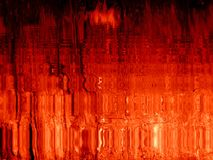 Sangue del Sun Fotografia Stock Libera da Diritti