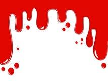 sangue Imagem do vetor Fotos de Stock