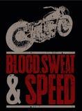 Sangue, suor e velocidade Fotografia de Stock Royalty Free