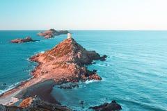 Sanguinaires-Inseln in Korsika - Frankreich lizenzfreie stockfotografie