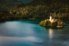 Sanguinato, la Slovenia fotografia stock libera da diritti