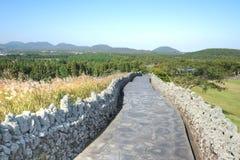 Sangumburi Crater, Jeju Island Stock Images