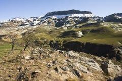 Sani-Durchlauf, Drakensbergen, Südafrika lizenzfreies stockbild
