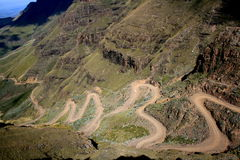 Sani Pass Stock Photos