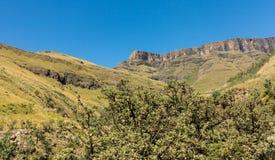 Sani pass to Lesotho Royalty Free Stock Photos