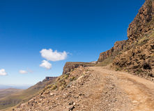 Sani pass to Lesotho Royalty Free Stock Photography