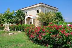 Sani resort home and landscape. Building and landscape in Sani resort, Halkidiki, Greece Stock Images