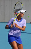 Sania Mirza (IND) Royalty Free Stock Photo