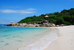 Sania wyspę. Fotografia Royalty Free